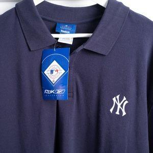 New NY Yankees Polo shirt size XL